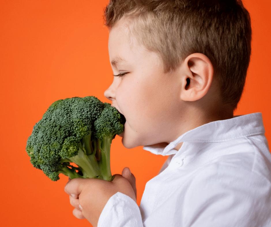 เด็กกินผัก